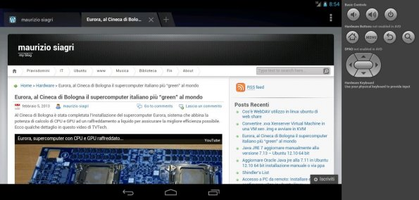 android virtual device tablet 7 browser